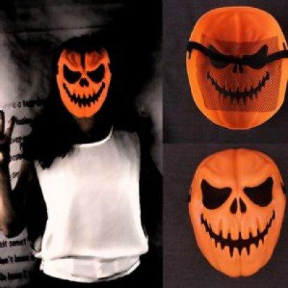 หน้ากากฮัลโลวีนฟักทอง - Hallowween Mask Pumpkin